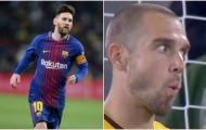 Bị Messi xé lưới 3 lần, thủ môn Betis phản ứng không thể tin nổi!