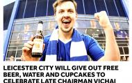 Leicester tiếp tục làm việc đầy ý nghĩa sau tai nạn của chủ tịch Vichai