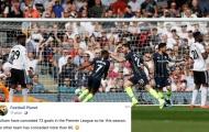 Man City giúp Fulham 'vô đối' Châu Âu về thống kê... thủng lưới