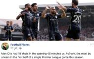 Những thống kê 'đáng sợ' trong trận Fulham 0-2 Man City