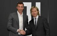 Mandzukic nói gì sau khi gia hạn với Juventus?