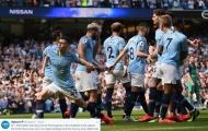 Thắng liên tiếp trên sân nhà, Man City vẫn thua Man Utd 2010/11