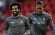 Salah đưa ra cảnh báo cho Van Dijk sau giải thưởng từ PFA