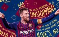 Messi đã ghi 600 bàn thắng cho Barca như thế nào?