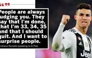 Bị Messi làm lu mờ, Ronaldo nói 1 điều cực gắt