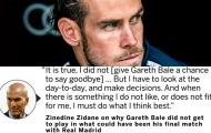 Lửa thiêu Berna-Bale; Zidane huỷ diệt học trò với tuyên bố tàn nhẫn!