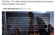 Tương lai Kylian Mbappe tại PSG đã được định đoạt