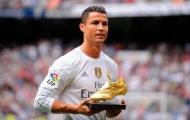 Cristiano Ronaldo: Giày vàng giá trị hơn Quả bóng vàng!