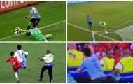 SỐC! Luis Suarez làm 2 điều không thể tin ở trận Uruguay - Chile