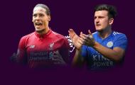 Van Dijk thế nào so với Maguire ở mùa giải 2018/19?