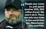 Sau tất cả, Klopp buộc phải thừa nhận Liverpool kém Man City 1 điều