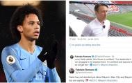 NÓNG! Thuyền trưởng Bayern tuyên bố 1 lời, Sane trên đường rời Man City