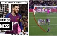 CHÍNH THỨC: Công bố bàn thắng đẹp nhất mùa giải 2018/19