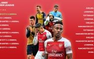 Kinh hoàng! Arsenal đang trải qua gần 4 năm ác mộng trước Big Six