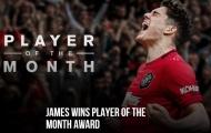 Lộ diện Cầu thủ xuất sắc nhất tháng 8 của Man Utd