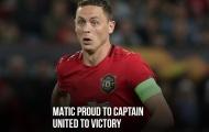 'Tôi tự hào vì điều đó với Man Utd'