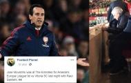 Biến căng! Mourinho bất ngờ 'đá cặp' cùng sếp bự Arsenal