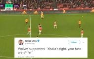 CĐV Wolves: 'Xhaka đã đúng, fan Arsenal như ***'