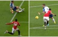 Man Utd mất oan 2 quả penalty trước Brighton?