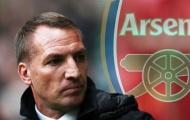 Brendan Rodgers: 'Arsenal là một câu lạc bộ tuyệt vời...'