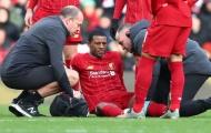 Liverpool tổn thất lực lượng ở trận Watford