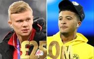Điên rồ! Haaland chỉ là một phần trong 'siêu kế hoạch 250 triệu' của Man Utd