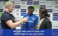 Thật phũ phàng! Everton đã lừa dối gia đình Moise Kean