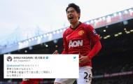 'Người Châu Á tiếc nuối' của Man Utd gửi lời chúc tới tân binh Liverpool