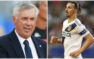 Ancelotti công khai mời gọi Ibrahimovic