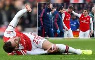 SỐC! Sao Arsenal dính chấn thương cực nặng, nghỉ chơi 9 tháng