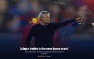CHÍNH THỨC: Barca đuổi việc Valverde, bổ nhiệm Setien