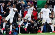 Hạ Barca 'cực ngọt', thần đồng Real Madrid gây sốt với màn ăn mừng huyền thoại