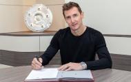 CHÍNH THỨC: Miroslav Klose được bổ nhiệm vào BHL Bayern Munich