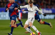 Trong ngày Real run rẩy, Bale bất ngờ gánh cả hàng công