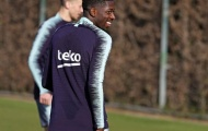Được đồng đội tha thứ, 'bom tấn' Barca rạng rỡ trên sân tập