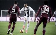 Ronaldo và trận derby Turin đáng nhớ