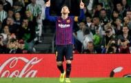 Điểm nhấn Betis 1-4 Barca: Ngày 'gã khổng lồ' khác lạ, Messi đến từ hành tinh nào?