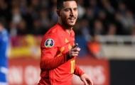Hazard kỷ niệm trận đấu 100 ý nghĩa, tuyển Bỉ nhẹ nhàng đả bại Đảo Síp