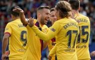 Lần đầu cho tam tấu Messi, Suarez và Griezmann, Barca trở lại vị trí số 1 La Liga
