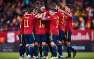 Tây Ban Nha nã 7 bàn, vùi dập đối thủ không thương tiếc