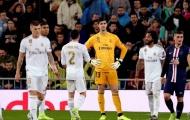 Mất ngôi đầu, đây còn là hình ảnh khiến người Madrid bàng hoàng