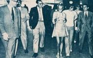 Những thước ảnh đáng nhớ của Johan Cruyff trong chuyến viếng thăm Barcelona năm 1970