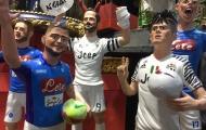 Đại chiến Napoli - Juventus phiên bản các ngôi sao búp bê