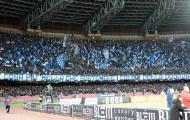 San Paolo 'buồn chơi vơi' vì quá vắng khán giả