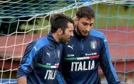 Buffon chiêu dụ Donnarumma đến Juventus