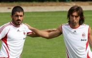 Pirlo động viên Gattuso tiếp tục ở lại Milan