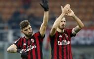 Cutrone ghi bàn bằng tay, Bonucci nhận lỗi thay đồng đội