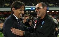 Sarri - Inzaghi: Cuộc đấu trí giữa tân và cựu