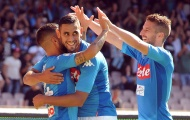Mertens tâng bốc đồng đội trước thềm đại chiến với Lazio