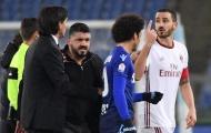 Cận cảnh khoảnh khắc Bonucci choảng nhau nảy lửa với Inzaghi